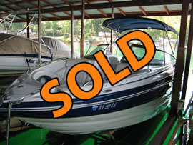 2011 Crownline 240LS with Dual Prop For Sale on Norris Lake