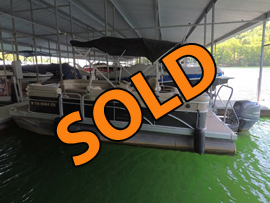 2012 Bennington 22SL Pontoon Boat with 90HP Yamaha 4-Stroke Outboard Motor For Sale on Norris Lake TN