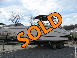 2015 Rinker 220 MTX Rental Fleet Boat 2 For Sale on Norris Lake TN