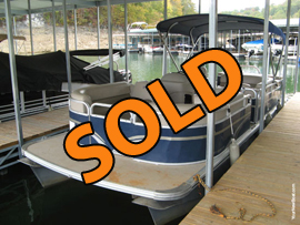 2015 Tahoe GT 2585 CR Pontoon Rental Fleet Boat with 115HP Suzuki Four Stroke Outboard For Sale on Norris Lake Tennessee