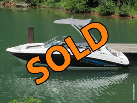 2016 Yamaha AR190 Jet Powered Ski and Wake Boat For Sale on Norris Lake Tennessee with Transferable Warranty