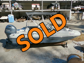 2019 Starcraft MDX 190 Outboard Powered Deckboat For Sale on Norris Lake Tennessee at Stardust Marina