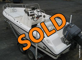 2001 Century 2000 Model Bay Boat Center Console For Sale in TN