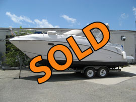 2001 FourWinns 268 Vista Aft Cabin Cruiser and Trailer For Sale on Norris Lake TN