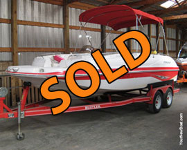 2001 Starcraft Aurora 2000 Deckboat For Sale near Knoxville TN