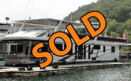 2001 Sumerset 18 x 87WB Houseboat For Sale on Center Hill Lake