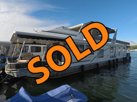 2001 Sunstar 16 x 78WB 3 Bedroom 2 Bath Houseboat For Sale on Norris Lake Tennessee at Sequoyah Marina