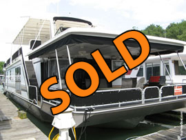 2002 Fantasy 17 x 82WB Houseboat For Sale on Watauga Lake Tennessee at Lakeshore Marina