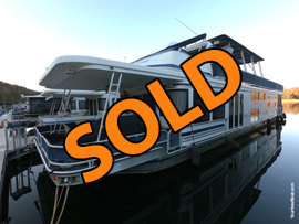 2002 Sumerset 16 x 76WB 4 Bedroom 2 Bath Aluminum Hull Houseboat For Sale on Norris Lake Tennessee at Stardust Marina