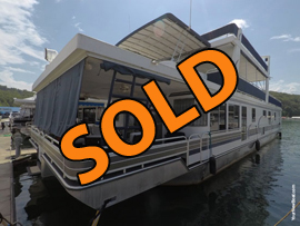 2003 Horizon 19 x 86WB Custom Built Houseboat For Sale on Norris Lake TN at Stardust Marina