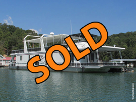 2003 Lakeview 17 x 81 WB Custom Built Aluminum Hull Houseboat For Sale on Norris Lake Tennessee at Springs Dock Resort