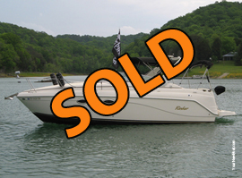 2003 Rinker Fiesta Vee 270 Cabin Cruiser For Sale on Norris Lake TN