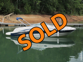 2003 SeaRay 240 Sundeck Sport Boat For Sale on Norris Lake Tennessee at Deerfield Resort