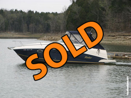 2004 Rinker Fiesta Vee 250 Cabin Cruiser For Sale on Norris Lake TN