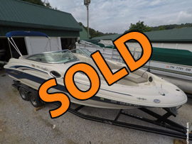 2004 SeaRay 240 Sundeck For Sale on Norris Lake Tennessee