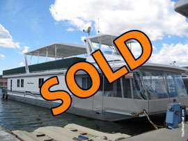 2004 Sharpe 16 x 83 WB Houseboat For Sale on Norris Lake Tennessee in East TN