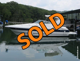 2005 CruisersYachts 320 Express Cruiser For Sale on Norris Lake in East Tennessee
