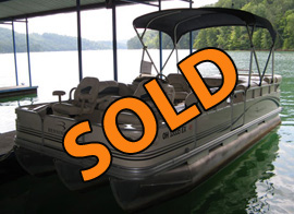 2006 Bennington 2075GS Tritoon with 115HP Yamaha Outboard For Sale on Norris Lake TN