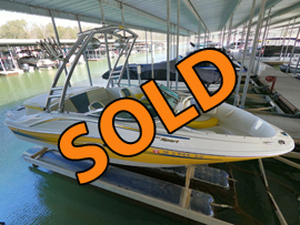 2006 SeaRay 185 Sport Bowrider with Wakeboard Tower For Sale on Norris Lake Tennessee at Waterside Marina