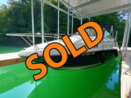 2006 SeaRay 240 Sundancer Cabin Cruiser For Sale on Norris Lake Tennessee at Whitman Hollow Marina