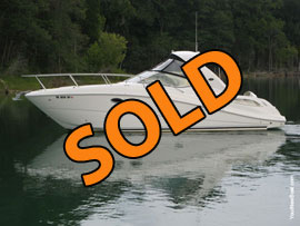2006 SeaRay 290 Sundancer FreshWater Express Cruiser For Sale on Norris Lake TN