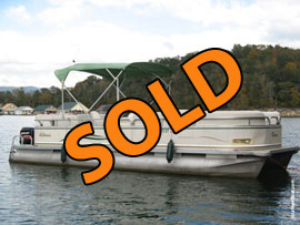 2006 Tahoe Vista Elite 22 Pontoon with 50HP Mercury EFI 4-Stroke Outboard For Sale on Norris Lake TN