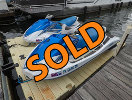 2006 Yamaha VX110 Sport Waverunners and PWC Drive on Ports Docks For Sale on Norris Lake Tennessee at Sequoyah Marina