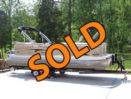 2007 PartiKraft 240RE TriToon For Sale near Knoxville TN
