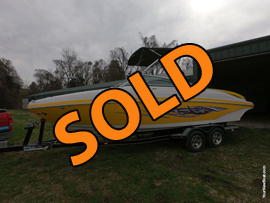 2007 Rinker 246 Captiva R2 Sport Boat For Sale near Norris Lake Tennessee at Deerfield Resort