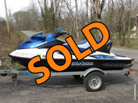 2007 Sea Doo GTX 155HP PWC For Sale near Lake Cumberland KY