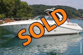 2007 SeaRay 310 Sundancer Express Cruiser For Sale on Norris Lake Tennessee