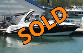 Fresh Water 2008 Four Winns V318 Vista Express Cruiser For Sale on Norris Lake in Tennessee