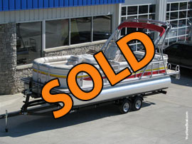 2008 Harris Flotebote 220 Super Sunliner Pontoon For Sale