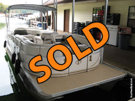 2008 Tahoe Vista RE 24 Pontoon Boat For Sale on Norris Lake