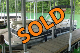 2009 Bennington 2275GLi Pontoon Boat with 90HP Yamaha 4-Stroke Outboard Motor For Sale on Norris Lake TN