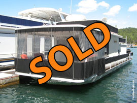 1974 Sumerset 12 x 48 (Steel) Houseboat For Sale on Norris Lake TN