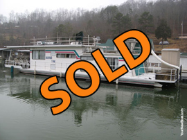 1978 Sumerset 14 x 58 (Steel) Houseboat For Sale on Norris Lake