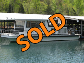 1982 CarlCraft 12 x 37 Houseboat  For Sale