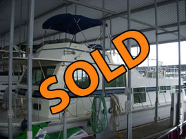 2005 Gibson 5500 Houseboat For Sale