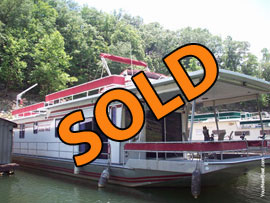 1985 Sumerset 14 x 60 Houseboat For Sale on Lake Cumberland KY