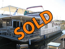 1987 Sumerset 14 x 60 Houseboat For Sale on Norris Lake