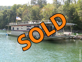 1988 Norris Craft 17'9'' x 70 (Steel) Houseboat w/Catwalks For Sale on Norris Lake TN