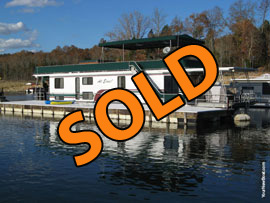 1994 Lakeview 14 x 65WB 4 Bedroom Houseboat For Sale on Norris Lake TN