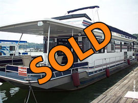 1994 Stardust 14 x 65 Houseboat For Sale on Lake Cumberland