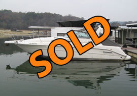 1995 Sea Ray 300 Sundancer FWC Express Cruiser For Sale on Norris Lake Tennessee