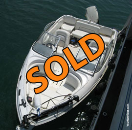1996 Chris Craft 17 Concept Fish and Ski Boat For Sale on Norris Lake TN