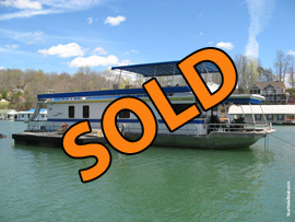 1997 Stardust 18 x 70 Houseboat with 6 Bedrooms For Sale on Norris Lake Tennessee at Springs Dock Resort Marina