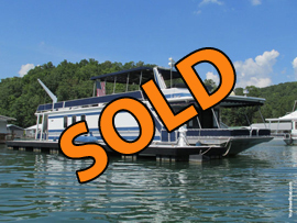 1998 Stardust 16 x 73WB Houseboat For Sale at Springs Dock Resort on Norris Lake Tennessee