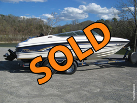 Freshwater 1999 Chaparral 2130 Sport Bowrider For Sale near Norris Lake Tennessee