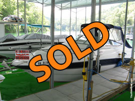 1999 Chaparral 240 Signature Aft Cabin Cruiser For Sale on Norris Lake TN